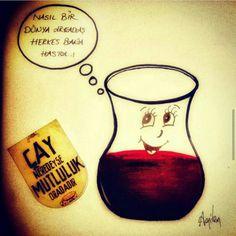 #çay #DinçerSeyitoğlu #güzelsözler Sven Bender, Lars Bender, Michael Ballack, Wine Decanter, Beautiful Words, Cool Words, Alcoholic Drinks, Chai, Instagram Posts