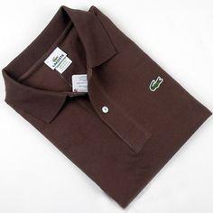 ralph lauren outlet store Lacoste Short Sleeve Slim Fit Pique Polo Shirt Brown http://www.poloshirtoutlet.us/