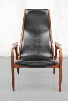 Yngve Ekstrom LAMINO Chair Mid Century Danish Scandinavian Wegner Swedese.