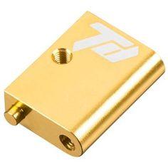 TDRTD320256 - Servo Mount Inner Aluminum Gold DETC410. Servo Mount Inner Aluminum Gold DETC410