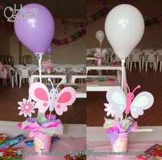 Fairies, butterflies and flowers | CatchMyParty.com