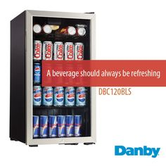 Keep your #drinks refreshing this summer! #danby #appliance #fridge