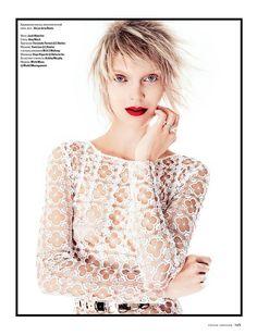 Big In Japan: Mirte Maas By Jack Waterlot For Vogue Ukraine May 2015