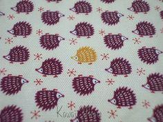 Kawaii Japanese Fabric - Cute Hedgehog