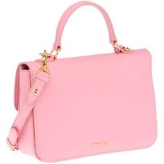 Miu Miu: Grained-leather tote - $1295 Adorable. I love the colour ...