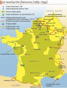 Escenarios de la Revolución Francesa