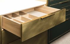 For Sale on - Part of our metal Kitchen Collection, this brass clad cabinetry is designed as a feature element for any space. Brass Kitchen, Custom Kitchen Cabinets, Custom Kitchens, Luxury Kitchens, Rustic Kitchen, Cool Kitchens, Modern Kitchens, Kitchen Decor, Metal Cabinets