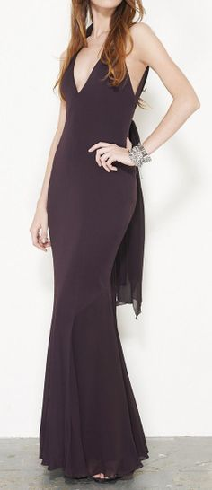 Dark Maroon Dress @Pascale Lemay De Groof