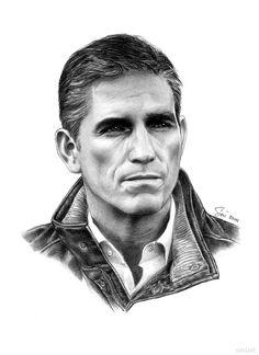 John Reese (Person of Interest) by siniart.deviantart.com on @DeviantArt