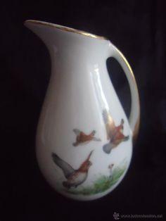 Jarra de leche en porcelana alemana Jäger años 60