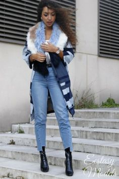 Fall Denim Wearing: Topshop jeans / H&M top / Asos jacket /...