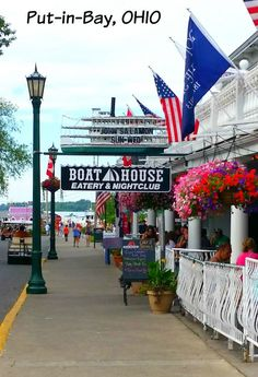 Put-in Bay, Ohio – Enjoy a Little Island Time without Leaving the Midwest. Miller Ferry to Put-in-Bay & Middle Island, Ohio. Midwest Vacations, Vacation Destinations, Vacation Spots, Vacation Ideas, Bar Lounge, Put In Bay Ohio, Stuff To Do, Things To Do, The Buckeye State