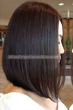 Yaki Straight Indian Remy Hair Glueless Silk Top Full Lace Wigs - New Sites Medium Hair Cuts, Medium Hair Styles, Short Hair Styles, Line Bob Haircut, Lob Haircut, Balayage Straight Hair, Balayage Hair, Curly Bob Hairstyles, Straight Hairstyles