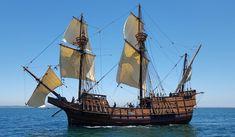 San Salvador at sail