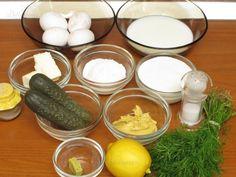 Ouă cu sos de muştar - reţetă culinară Dairy, Eggs, Cheese, Breakfast, Morning Coffee, Egg, Egg As Food