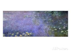 Nympheas Giclee Print by Claude Monet at AllPosters.com