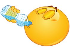 Emoticons --drink pure water