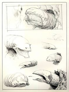 Ralph Mcquarrie Sketches