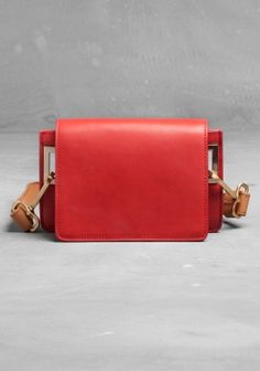 LEATHER MINI BAG    OTHER STORIES
