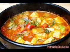 Tofu & Soybean Paste JjiGae, 두부 된장 찌개, DuBu DoenJang JjiGae