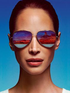 Christy Turlington by Inez and Vinoodh for Conde Nast Traveler
