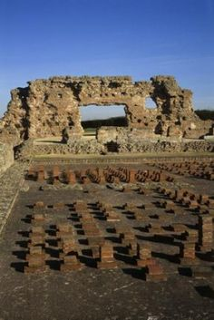 Wroxeter Roman City, Shropshire, England