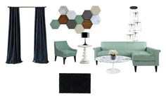 """""""Living Room Set Up"""" by amelia-clarquist ❤ liked on Polyvore featuring interior, interiors, interior design, home, home decor, interior decorating, Ren-Wil, Rizzy Home, Redford House and Design Within Reach"""