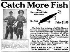Creek Chub Bait Company – Indiana Historical Bureau