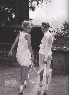 my reason to want to be a tennis player: the outfits--how true!