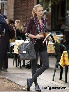 Serena van der Woodsen (Blake Lively) has the perfect back to school wardrobe! Anyone else miss #GossipGirl ? #Humber #college #style
