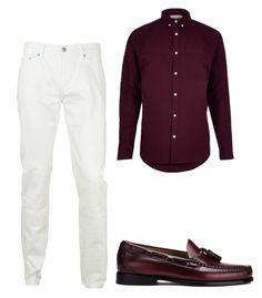 """Untitled #148"" by iamdolledkouture on Polyvore featuring River Island, Burberry, Bass Weejuns, men's fashion and menswear"