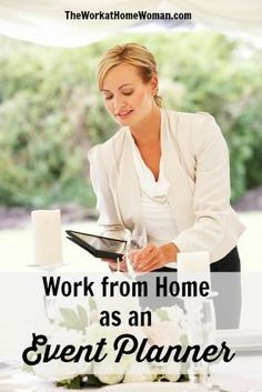 Work at Home as an Event Planner