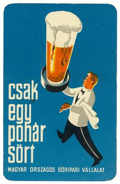Calendar cards were unfamiliar to me but appear to be popular in Eastern Europe and the USA. Vintage Advertising Posters, Vintage Travel Posters, Vintage Advertisements, Vintage Ads, Old Posters, Illustrations And Posters, Budapest, Dj Yoda, Restaurant Pictures