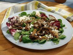 Warm Beef Tri-Tip Salad recipe from Geoffrey Zakarian via Food Network (The Kitchen - Sunny  Anderson)
