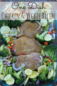 Low Carb Diet Meals: One Dish Chicken & Veggie Recipe - Time 2 Save Workshops