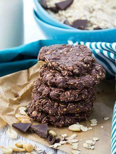 No Bake Cookies aus Haferflocken