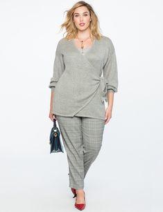 New Ladies Plus Size 3//4 Sleeve Scoop Neck Rib Bodysuit Sizes 14-28