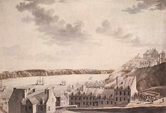 Source: James Hunter/ Bibliothèque et Archives Canada. Canada, Colonial Architecture, Belle Villa, Close To Home, Quebec, Religion, 18th Century, Paris Skyline, Images