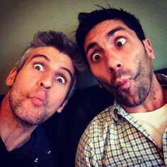 Nev Schulman and Max Joseph are my October inspirations!! Love what they do, love who they are.