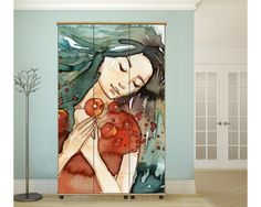 Breath of spring, αυτοκόλλητο  ντουλάπας Decoration, Painting, Art, Decor, Art Background, Painting Art, Kunst, Paintings, Deko
