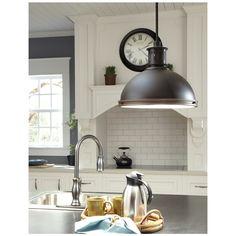 Pratt Street Metal 3-light Autumn Bronze Pendant with Glass Diffuser | Overstock.com