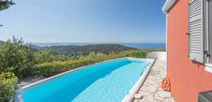 Private pool with amazing sea view in Agios Nikitas Village. Private Pool, Island Life, Islands, Greece, Villa, Sea, Amazing, Outdoor Decor, Greece Country