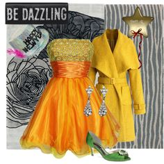 """""""Be Dazzling New Years"""" by melange-art on Polyvore"""
