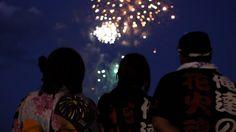 """LIGHT UP NIPPON 2012""  FIREWORKS IN TOHOKU"