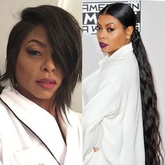 Change is as good as a holiday, and for the holidays celebrities are opting for BIG hair changes. Kylie Jenner has gone from blonde to black hair, and Zoe Kravitz did the opposite. Taraji P Henson went super long, and Cara Delevine went shorter, wearing the super trendy lob. Transform your hair for the #holidays! #celebrity style #hairspiration #hairideas #summerhair Big Hair, Your Hair, Taraji P Henson, Zoe Kravitz, Lob, Celebs, Celebrities, Summer Hairstyles, Kylie Jenner