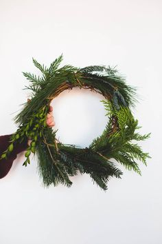 Household Mag. Diy wreath