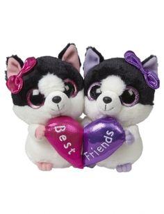 6 Inch BFF Plush Kitty Cat Set