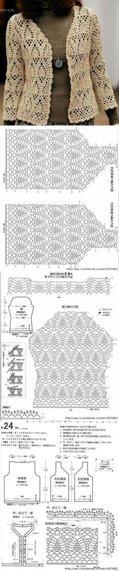 Fabulous Crochet a Little Black Crochet Dress Ideas. Georgeous Crochet a Little Black Crochet Dress Ideas. Gilet Crochet, Crochet Coat, Crochet Cardigan Pattern, Crochet Jacket, Crochet Blouse, Crochet Shawl, Crochet Clothes, Crochet Stitches, Free Crochet