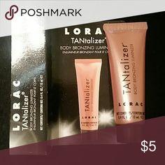 LORAC Tantalizer Body Illuminizer Brand new, never used. SAMPLE size in original packaging Lorac Makeup Bronzer