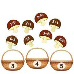 Addition and subtraction activity for kids Subtraction Activities, Fun Math Activities, Kids Math Worksheets, Maths Puzzles, Kindergarten Art, Preschool Learning, Teaching Math, Maths Classroom Displays, Math Classroom